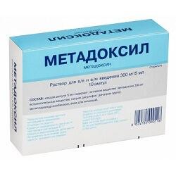 методоксил для снятия похмельного синдрома и снижению тяги к алкоголю